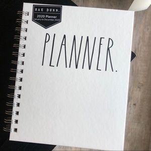 NEW Rae Dunn 2020 Planner 'PLANNER'